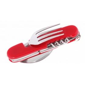 Multifunkčný vreckový nôž - príbor 6v1