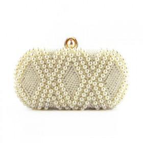 Dámska listová kabelka Pearl Beige