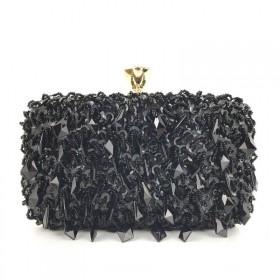 Dámska listová kabelka Thelma Čierna