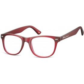 Antireflexné okuliare na počítač bez dioptrii MX67 Červené