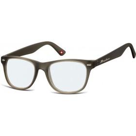Antireflexné okuliare na počítač bez dioptrii MX67 Šedé