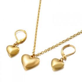 Súprava šperkov z chirurgickej ocele Srdce z Lásky