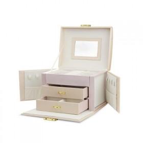 Elen kufrík na šperky šperkovnica Ružová