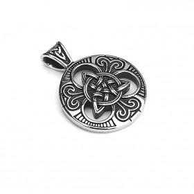 Prívesok z ocele Keltský uzol Magic