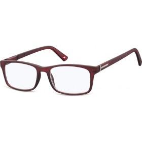Antireflexné okuliare na počítač bez dioptrii MX73C červené