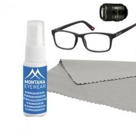 Sada na čistenie okuliarov- sprej a mikroutierka 20 ml