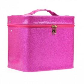 BMD kozmetický kufrík Sparkling Ružový