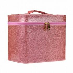 BMD kozmetický kufrík Sparkling Lososový