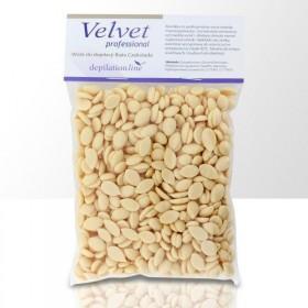 Velvet tvrdý depilačný vosk Biela čokoláda 100g