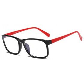 Okuliare blokujúce modré svetlo na počítač C8012 Červené