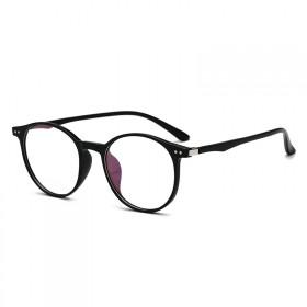 Nedioptrické okuliare Superior Oval TR90 - Čierne