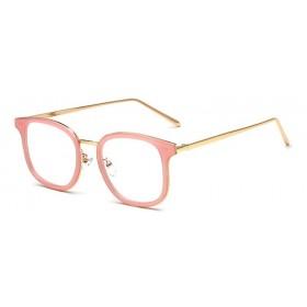 Dámske okuliare bez dioptrii Pink Sense JH-1802