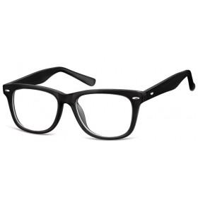 Detské okuliare bez dioptrii Wayfarer - čierne