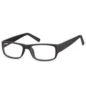 Obdĺžnikové okuliare bez dioptrii Dispenser - čierne