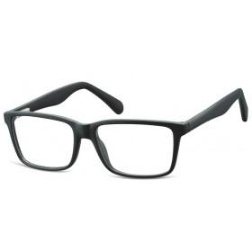 Obdĺžnikové okuliare bez dioptrii Unfailing- čierne
