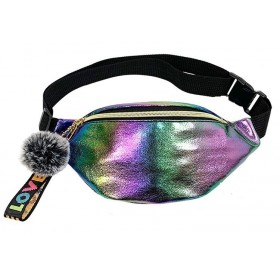 Who cares Holografická ľadvinka s brmbolcom Rainbow