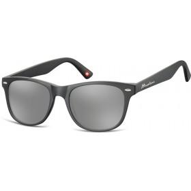 Montana slnečné okuliare Wayfarer čierne zrkadlové MS10C