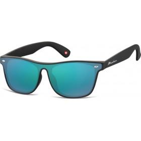 Montana slnečné okuliare Wayfarer zelené zrkadlové MS47F