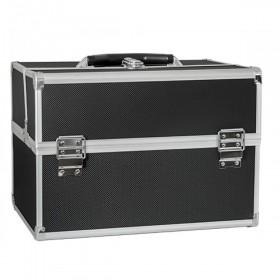BMD kozmetický kufor rozkladací XL Čierny