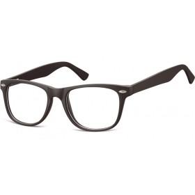 Okuliare bez dioptrii wayfarer Flexi Čierne