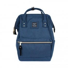 Himawari mestský batoh s USB NR7 Modrý