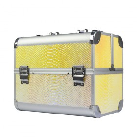BMD kozmetický kufrík Snake Žltý