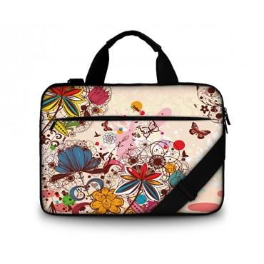 """Huado taška cez rameno 15.6"""" Kvetinové opojenie"""