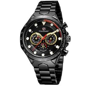 FORSINING pánske automatické hodinky Manful M4T3 Čierne