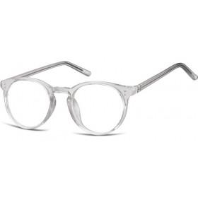 Nedioptrické okuliare Oval Cute Dymové