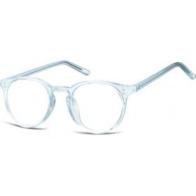 Nedioptrické okuliare Oval Cute Modré