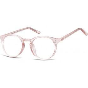 Nedioptrické okuliare Oval Cute Ružové