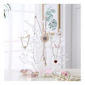 Stojan na šperky Strom transparentný