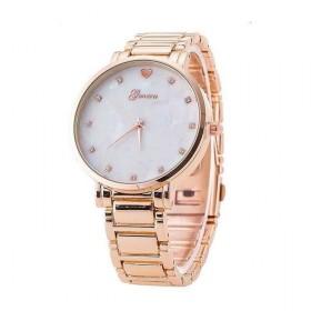 Geneva hodinky dámske Opál Ružové zlato