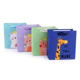 Darčeková taška so zvieratkom malá veľkosť