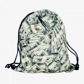 Plátený vak s 3D potlačou Money Money