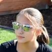 Deep slnečné okuliare wayfarer Transparentné zrkadlovky