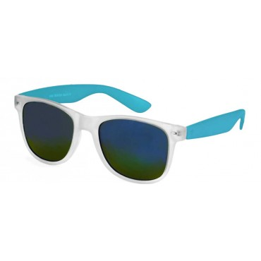 Deep slnečné okuliare wayfarer Modré polo zrkadlovky