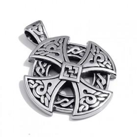 Prívesok z chirurgickej ocele Celtic Solar Cross