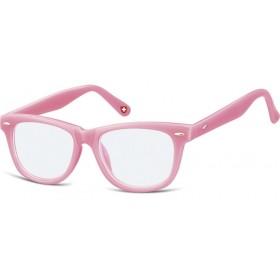 Detské okuliare blokujúce modré svetlo Wayfarer Ružové