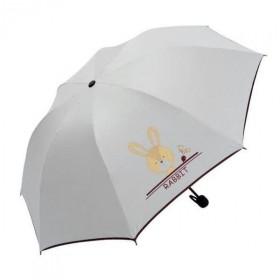 Dámsky skladací dáždnik Biely Králiček