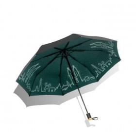 Dámsky skladací dáždnik Zelené mesto