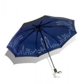 Dámsky skladací dáždnik Modré mesto