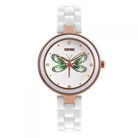 Skmei 9131 dámske keramické hodinky Magic Dragonfly
