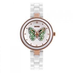 Skmei 9131 dámske keramické hodinky Magic Butterfly