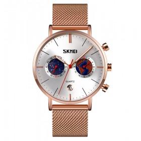 Skmei 9231 Unisex hodinky Starlight Strieborné