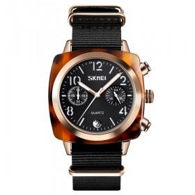 Skmei 9186 dámske hodinky Charming Amber Čierne
