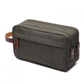Pánska toaletná taška Carry Up Zelená