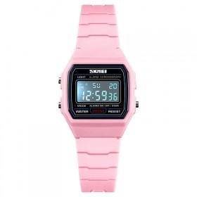 SKMEI 1460 dievčenské digitálne hodinky Light pink