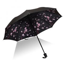 Dámsky skladací dáždnik Ružový krík