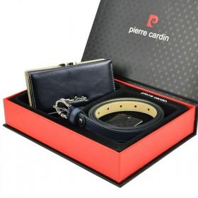 Pierre Cardin dámska darčeková sada LEONA Blue